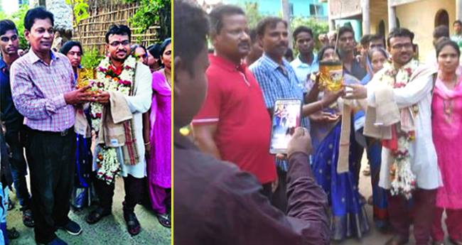 33 YO Man asks for 1,001 saplings as Dowry and We Support It