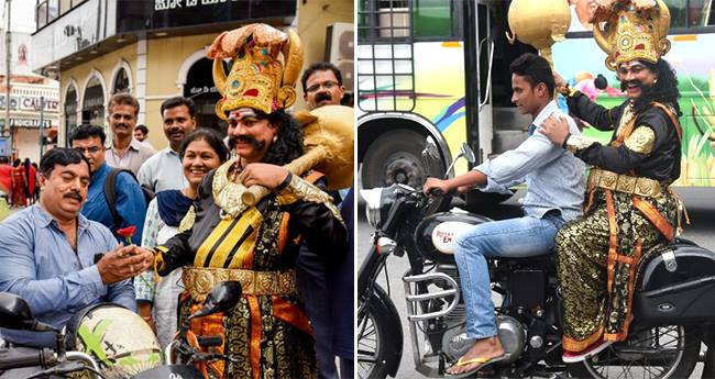 You Will Be Chased By An Angry Yamraj If You Break Traffic Rules In Bangaluru