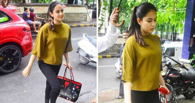 Mira Rajput papped in Bandra with friends flaunting her baby bump