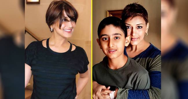 Sonali Bendre says her 12-YO Son is now her Parent and Strength
