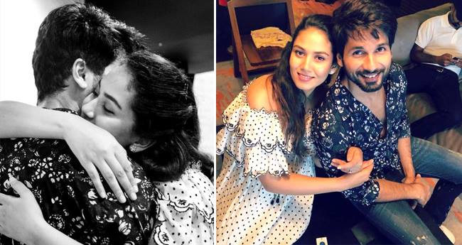 Mira Rajput wants to Hug and Kick Shahid and then never let him go