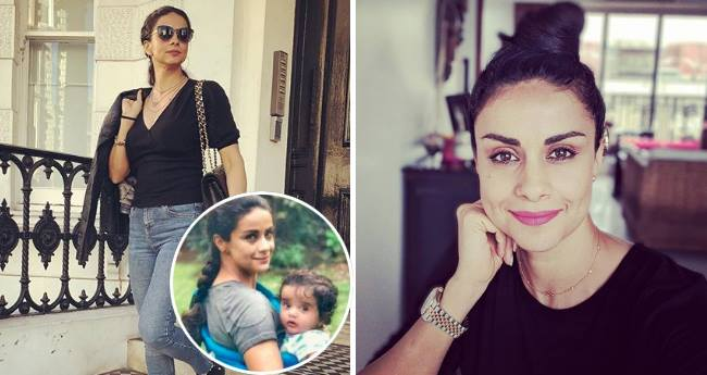 Gul Panag's baby boy is six months old, hides it from media and shares picture for first time