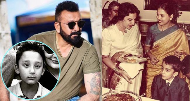 Sanjay Dutt's son Shahraan is carbon copy of Little Sanju Baba, take a look at the picture