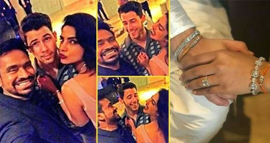 Some more pics from Priyanka and Nick's engagement will restore your faith in love