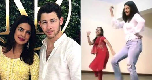 Nick and Priyanka Visit An Orphanage, Nick Falls For Her As She Dances With Kids